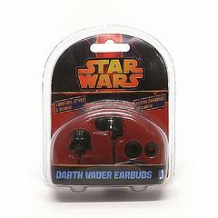Star Wars Darth Vader Earbuds - Listen on the Darkside with these high quality Licensed Star Wars Darth Vader Earbuds.They come with extra earbudcushions so you can make the most of the listening experience they provide.Colour: Black Model No.: 15231Shipping Weight (in Kilograms): 0.128Product in Centimeters (L x W x H): 3.8 × 10.2 × 13.1