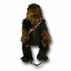 "Chewbacca Backpack Buddy - It's cute, convenient and did I mentions cute. Oh and hairy.Limited stock remaining. Or as Chewbacca might say, ""Huuuaaaarrrgh."""