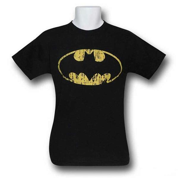 Batman Distressed Symbol T-Shirt