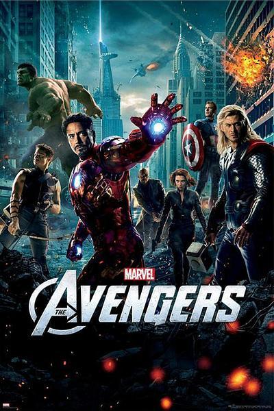 Avengers Movie Sheet Poster