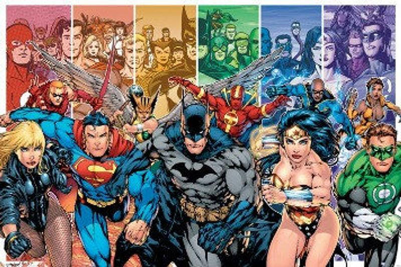 Justice League Heroes Poster