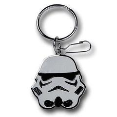 Star Wars Stormtrooper Keyring - March to the beat of The Empire's drum with this Star Wars Stormtrooper Enamel keyring measures 4cm in length.