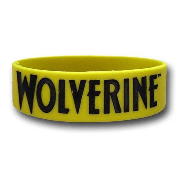 Wolverine Rubber Wristband