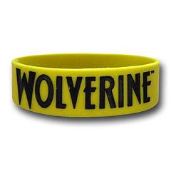 Wolverine Rubber Wristband - The Wolverine Rubber Wristband measures approximately 2.5cm wide and lets people know who they just might be dealing with.One size fits most.
