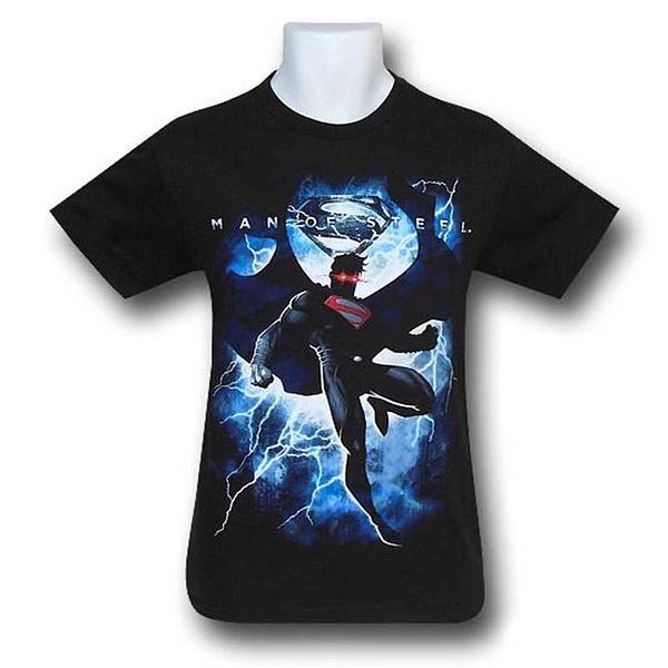 Superman Lightning T-Shirt