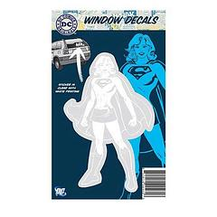 Supergirl Car Decal - This DC Originals Car Decal lets you be the Woman of Steel as you drive, putting all other decals to shame. Step forth, women of Krypton and claim your birthright. Or just buy one and stick it on your car. Either way, at 12.7cm tall by 8.25cm wide, you're going to make an impression that will be hard to match; on any planet.