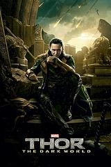 Loki Poster: The Dark World - This could have been called 'Thor: The Dark World' but since Loki decided to take the throne I guess he got to call the shots on who would be in the final image. So here he is in all his Asgardian glory.Standard Poster size: 61cm x91.5cm.