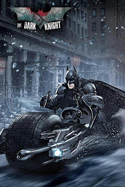 Batman Bike Poster