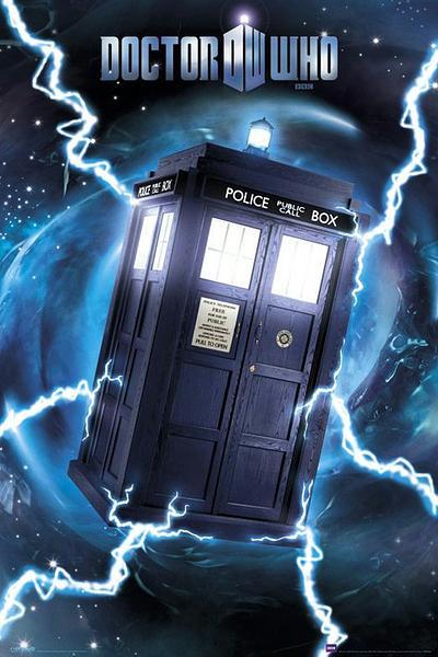 Dr Who Tardis Foil Poster