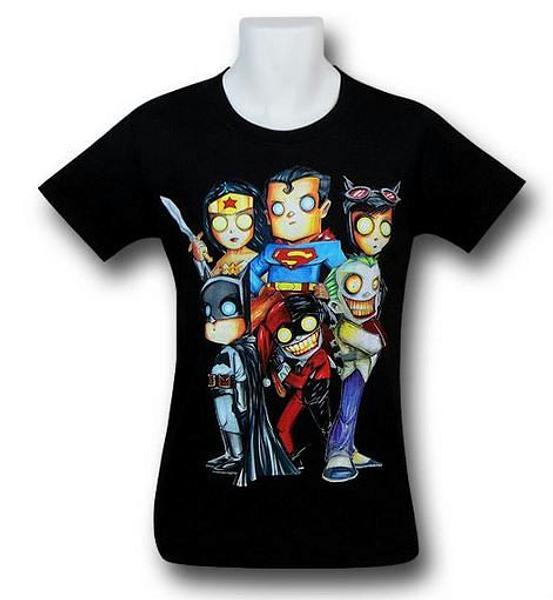 DC Universe T-Shirt: Grim Stares