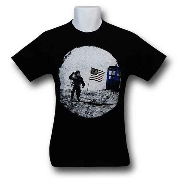 Dr. Who T-Shirt: Moon Landing