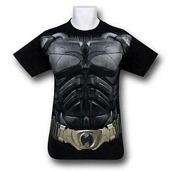 Batman T-Shirt: Dark Knight Rises - The Batman Dark Knight Rises Costume T-shirt is made from 100% cotton and is perfect for more casual crime-fighting occasions.Colour: Black