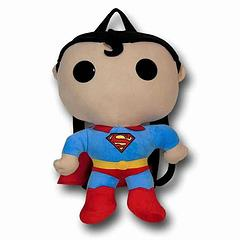 Superman Backpack: Funko - He's the Last son of Krypton, Earth's mightiest protector and the Man of… Plush. Well at least in this Funko Backpack version of him, he is. This cute Superman Backpack is made from 100% polyester and is approximately 43cm tall. Who could say no to that face?It features one small storage compartment in the head.
