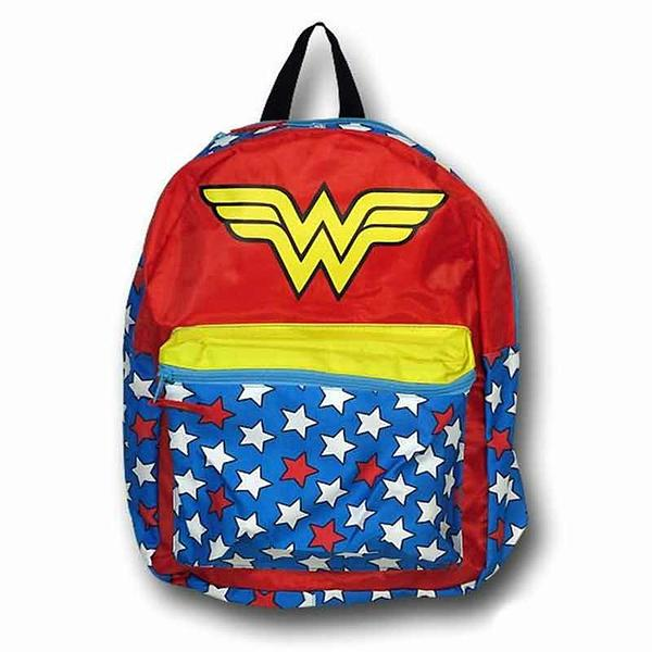 Wonder Woman Backpack: Caped