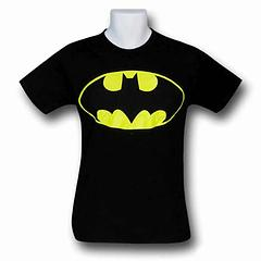 Batman Symbol T-Shirt - This Batman T-Shirt features the most famous black and yellow Batman Symbol and is made from 100% preshrunk cotton. Perfect for any Dark Knight.Colour: Black