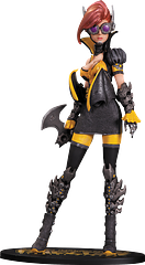 Batgirl Statue: Steampunk - Superhero and steampunk worlds collide in this amazing PVC Statue Series from Ame-Comi. Sculpted by Sam Greenwell, this Steampunk Batgirl Statue stands 24cm (9.5