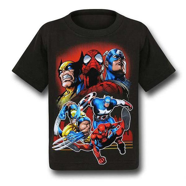 Marvel Heroes Kids T-Shirt