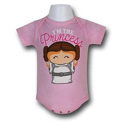 Star Wars Leia Snapsuit - The Star Wars Leia Pink Infant Snapsuit is made from 100% cotton.Colour: Pink
