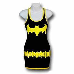 Batgirl Costume Tank Dress - The Batgirl Juniors Costume Tank Dress is made from 95% cotton and 5% lycra.Sizing: Women's Juniors (Baby Doll)Colour: Black