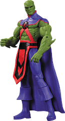Martian Manhunter Action Figure - Martian Manhunter can appear in any form, but why would he want to be anyone other than himself when he's been crafted to look this good? This DC Comics – The New 52 – Martian Manhunter figure stands 18cm (7