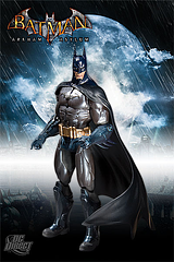 Batman Figure: Arkham Asylum - He'll need your help to get out of Arkham Asylum alive. This Batman – Arkham Asylum – Armoured Batman Figure (Series 1) stands 17.8cm (7