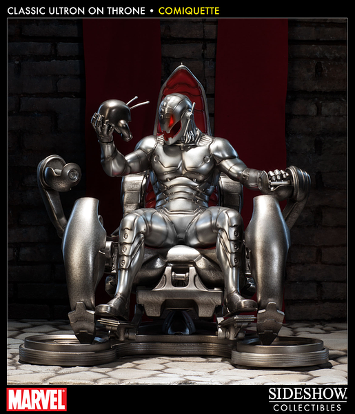 Ultron on Throne Classic Comiquette