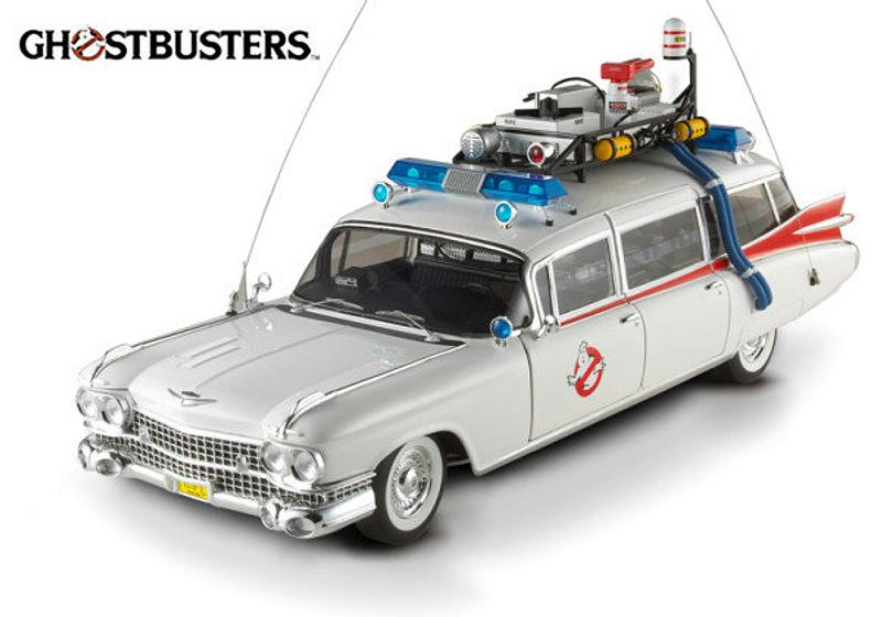 Ghostbusters Ecto-1: 1:18 Diecast