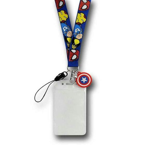 Marvel Lanyard with Cap Shield