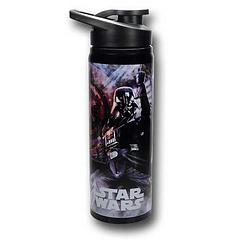 Darth Vader Water Bottle - The Star Wars Vader Imperial Metal Water Bottle holds 750ml (25oz) of liquid.Note: Product must be hand-washed. Do not microwave.