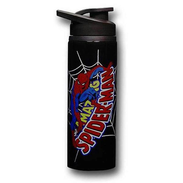 Spiderman Water Bottle: Stainless Steel