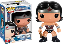 Wonder Woman New 52 Pop! Vinyl Figure - This New 52 Pop! Vinyl figure stands an adorable 3.75