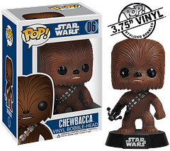 Chewbacca Pop! Vinyl Figure - The Funko Star Wars Chewbacca Pop! Vinyl Figure will make a great addition to any Star Wars collection and also a pretty cool travelling buddy too, at only 3.75