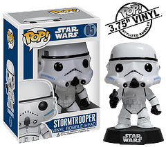 Stormtrooper Pop! Vinyl Figure - They're good for much more than marching in white uniforms. They're an essential force for the smooth running of an entire Empire. If they were all 3.75