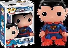 Superman New 52 Pop! Vinyl Figure - The New 52 Superman Pop! Vinyl Figure is the quintessential DC Universe 3.75