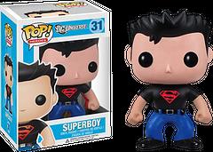 Superboy Pop! Vinyl Figure - He's here and he's very popular. The Superboy Pop! Vinyl Figure is 3.75