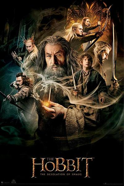 The Hobbit DOS - Gandalf Poster