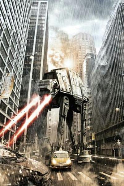 Star Wars Poster - Manhat-atan