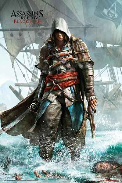 Assassin\'s Creed 4 Poster - Shore