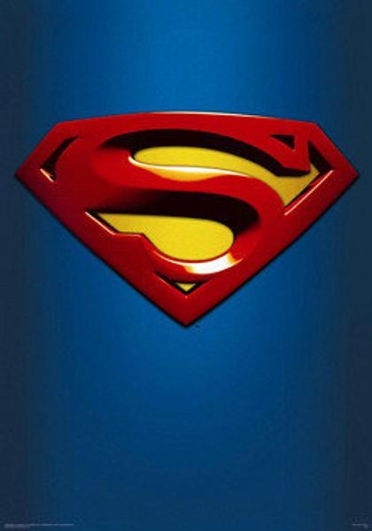 Superman Poster Classic Symbol