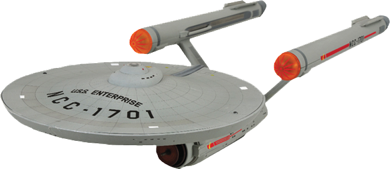 U.S.S. Enterprise Starship TOS