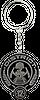 Hunger Games Keyring District 12 Seal