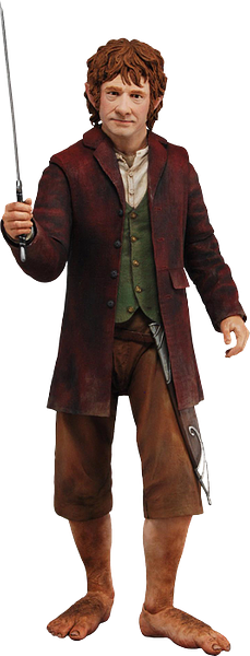 Bilbo Baggins 1/4 Scale Figure The Hobbit