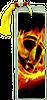Hunger Games Bookmark Burning Mockingjay
