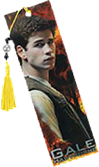 Hunger Games Bookmark Gale - Complete your official Hunger Games Bookmark set with the Gale Hawthorne, bead-adorned bookmark. Limited stock, so get in fast.