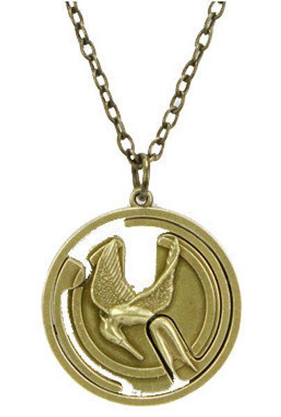 Hunger Games Necklace Mockingjay Gyroscope
