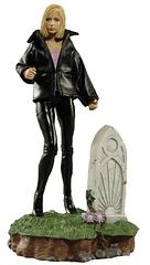 Buffy Figure from Buffy the Vampire Slayer - The one girl in all the world with the speed and skill to hunt the… Yeah that's right; the one that slays vampires rather than marries them. This 5