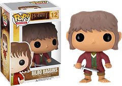 Bilbo Pop! Vinyl Figure - From the epic motion picture series The Hobbit comes Bilbo. Well a little Bilbo, anyway; the cute 3.75