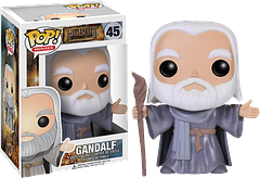 Gandalf Pop! Vinyl Figure - Inspired by The Hobbit: The Desolation of Smaug, this Gandalf Pop! Vinyl Figure is a must for any collector. Plus he's kind of funny telling people not to pass, when he only stands 3.75