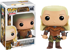 Legolas Pop! Vinyl Figure - Bow and arrow at the ready this special guest character in The Hobbit: The Desolation of Smaug, now offers to make a special appearance in your collection of 3.75