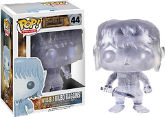 Invisible Bilbo Pop! Vinyl Figure - The creative team at Funko have outdone themselves this time. Presented here, well kind of, is the Invisible Bilbo 3.75